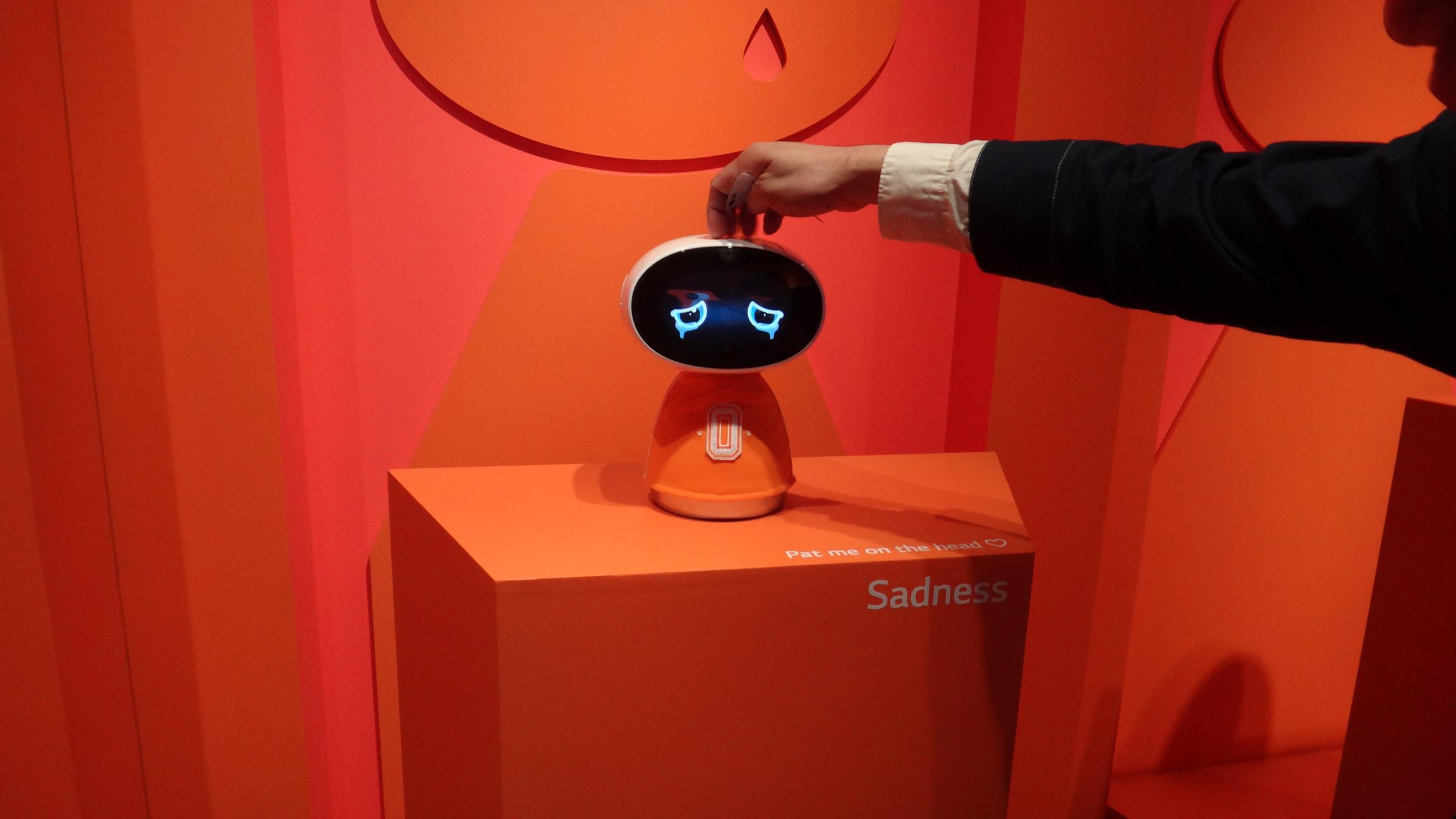 感情表現するロボット