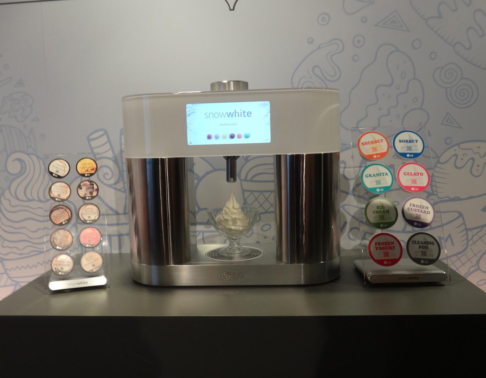 家庭用のアイス製造マシン